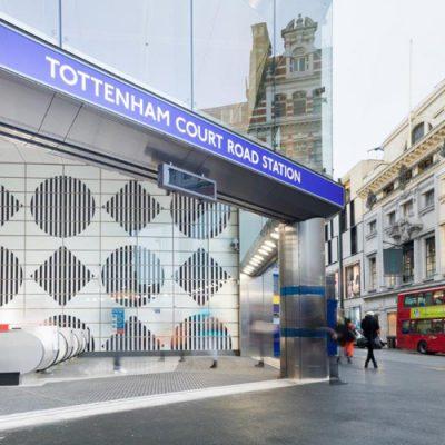 Tottenham Court Road Station Upgrade - TFL